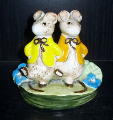 Vintage England Kitty Macbride Porcelain Mouse Figurine Beautiful Design Nr