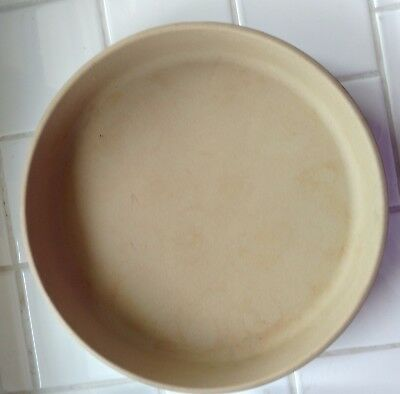 Pampered Chef Classics Collection Stone Pie Plate/Stone