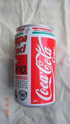 Coca Cola can from Italy for FIFA World cup soccer 1990 in Italy