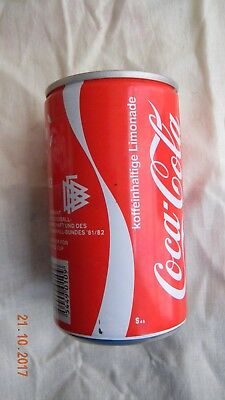 Coca cola can from Germany for Espana/Spain FIFA Wolrld cup soccer in 1982