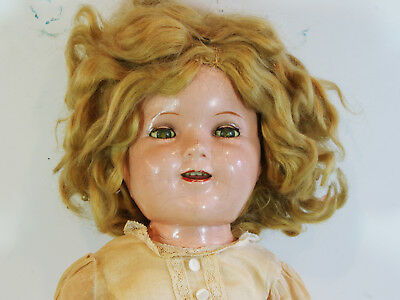 Ideal Shirley Temple All Composition Doll 20* inches N&T Co.