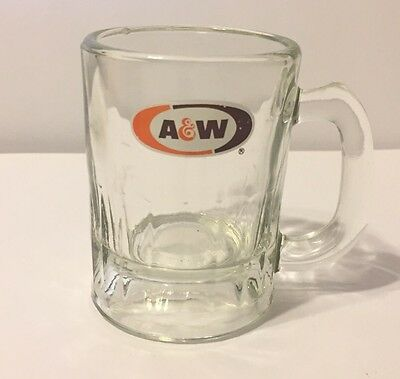 A&W Glass Mug Small