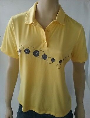 FAYDE ladies size 10 short sleeve golf polo shirt
