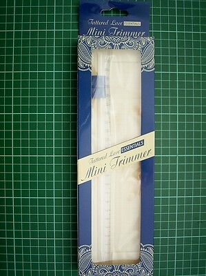 MINI PAPER TRIMMER Tattered Lace ESS17 - cuts paper up to 21.5cm wide