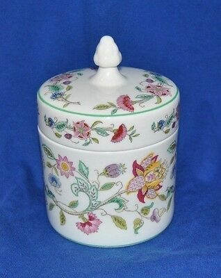 "Outstanding Vintage Minton ""Haddon Hall"" Covered Jar"