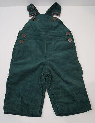 MARIE CHANTAL Baby Boy Green Corduroy 100% Cotton Dungarees 6 Months
