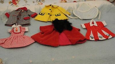 """Vintage 8"""" Betsy McCall Lot of Clothing"""