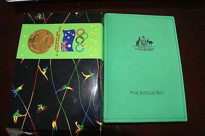 1992 Australian PROOF set UNC ftr: Barcelona $1.00 coin. Coins are stunning.