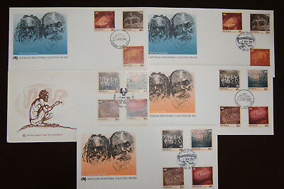 1984 Australian Bicentennial Collection FDC x 5 Nice range of covers Unaddressed
