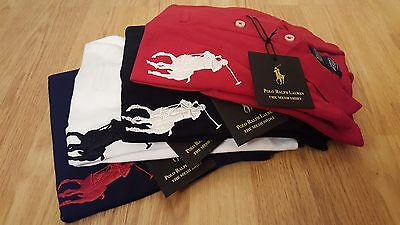 "Kids Boys Ralph Lauren Short Sleeve Polo Shirt ""3"" logo *%%*SUMMER CLEARANCE*%%*"