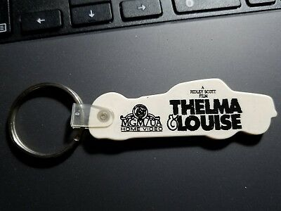 Vintage 1991 Thelma & Louise Movie Promo Car Keychain - Rare Find