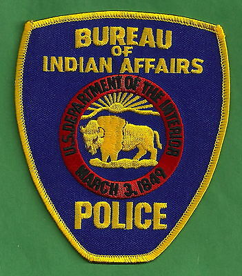Bia Bureau Of Indian Affairs Tribal Police Patch