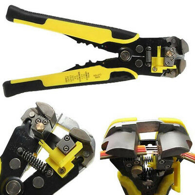 Automatic Wire Stripper Crimping Pliers Multifunctional && Terminal Tool Yellow