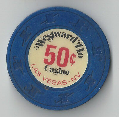 $.50 Las Vegas Westward Ho 1St Edt Casino Chip Nevada Closed