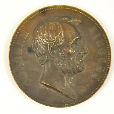 Abraham Lincoln U.S. Mint Mourning Medal