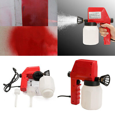 Electric Air Less Paint Spray Gun Airless House Fence Sprayer Room Painting Tool
