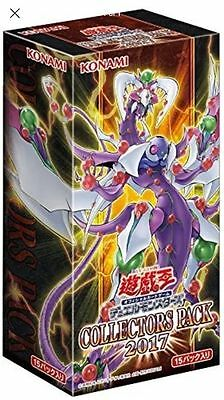 Japanese yugioh box  Sealed Collectors Pack 2017  CP17  Free shipping