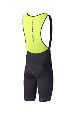 Shimano s-phyre Bib Short Yellow Short Lightweight Bike Pants Low Stitched 2017