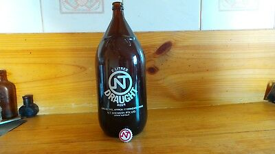 Vintage Darwin Stubby with Crown Seal Cap Empty