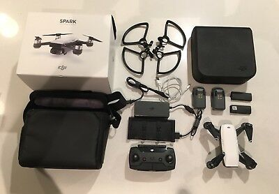 Dji Spark Fly More Combo, 3 Batteries, Excellent Condition, With Dji Care