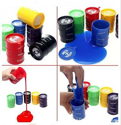 1X Kids Barrel O Slime Large Joke Gag Prank Gift Toy Crazy Trick Party Supply ST