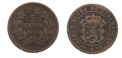 5 Centimes 1854