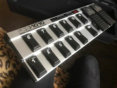 Behringer FCB1010 MIDI Foot Controller W/ SBK fitted case and Uno Chip