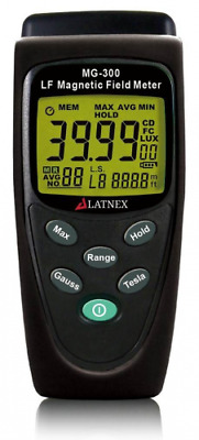 LATNEX MG-300 LF magnetic Field Meter, Measures EMF Radiation from High-Power Tr