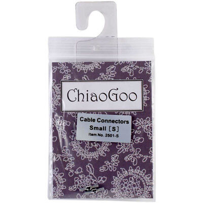 ChiaoGoo Cable Connectors for Spin or Twist Intchg. Small Knitting Needle Set