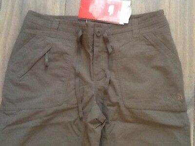 The North Face Brown Horizon Tempest Outdoor Alternative Trousers Size 10 Short