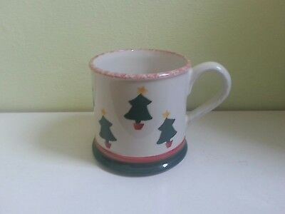 Laura Ashley Trees Hand Painted Mug.