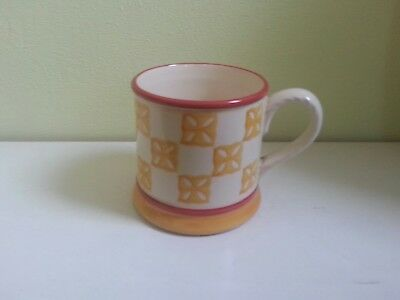 Laura Ashley Home Hand Painted Mug.