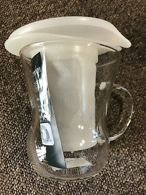 Hario One Cup Tea Maker 200ml White OTM-1NW 1 Cup from JAPAN