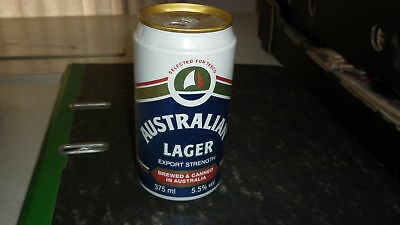 OLD AUSTRALIAN BEER CAN, 1980s TESCO AUSTRALIAN LAGER ALLOY CAN