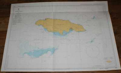 Nautical Chart No. 3936 West Indies - Approaches to Jamaica
