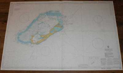 Nautical Chart No. 334 North Atlantic Ocean - Bermuda