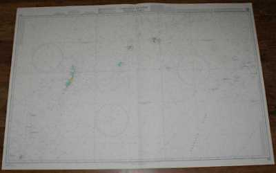 Nautical Chart No. 763 North Pacific Ocean, Caroline Islands - Western Part