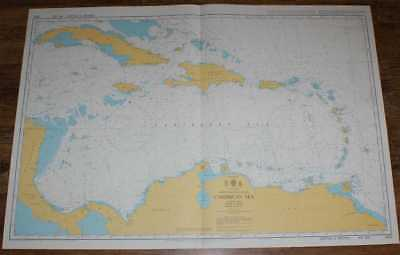 Nautical Chart No. 4402 North Atlantic Ocean - The Caribbean Sea