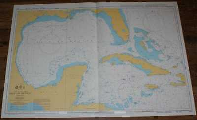 Nautical Chart No. 4401 North Atlantic Ocean - Gulf of Mexico