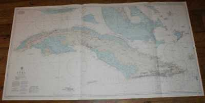 Nautical Chart No. 2579 West Indies - Cuba (including Caymans)
