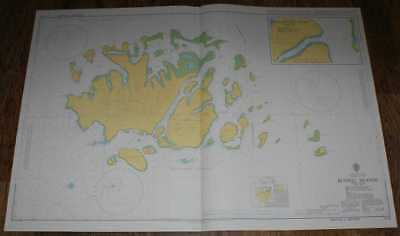 Nautical Chart No. 1714 South Pacific Ocean - Solomon Islands, Russell Islands