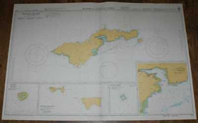 Nautical Chart No. 1729 South Pacific Ocean - Islands in American Samoa