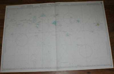 Nautical Chart No. 762 North Pacific Ocean - Caroline Islands, Eastern Part
