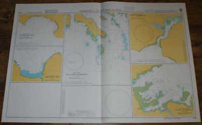Nautical Chart No. 1766 South Pacific Ocean - Harbours in the Solomon Islands