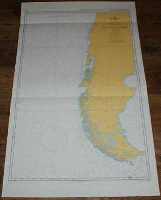 Nautical Chart No. 4609 S Pacific - W Coast of S America, Valparaiso to Islas DR