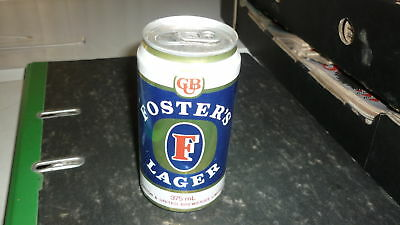 OLD AUSTRALIAN BEER CAN, 1980s FOSTERS LAGER ALLOY CAN