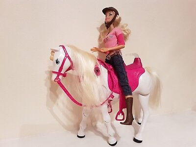 Barbie Walking together Barbie and Tawny - Mattel ( Barbie doll and horse )