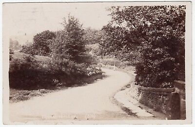 * THUNDER BRIDGE - Kirkburton - Huddersfield - 1907 used Real Photo postcard