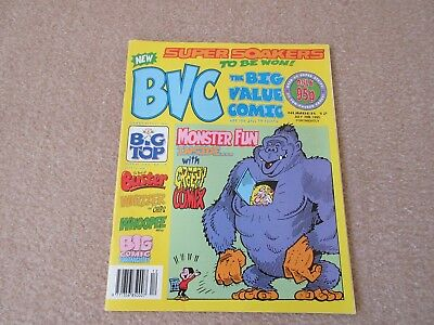 BVC- BIG VALUE COMIC-  No 12- July 28th 1995- Good Condition