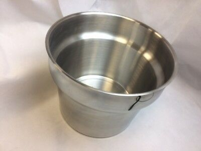 Fast Food Stainless Steel Frying Pot for Fried Chicken Breading Table 290x230mm